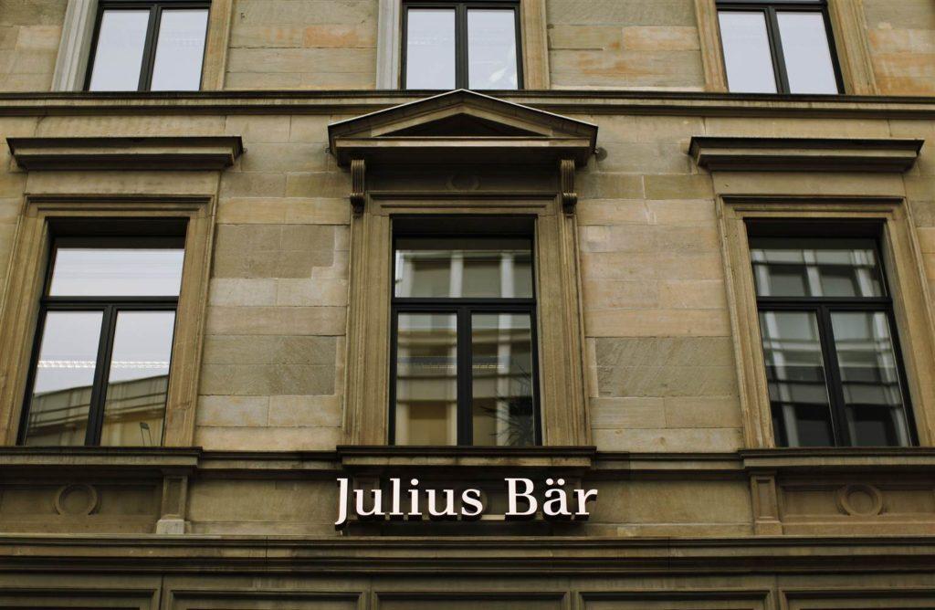 An image of a Julius Baer bank.