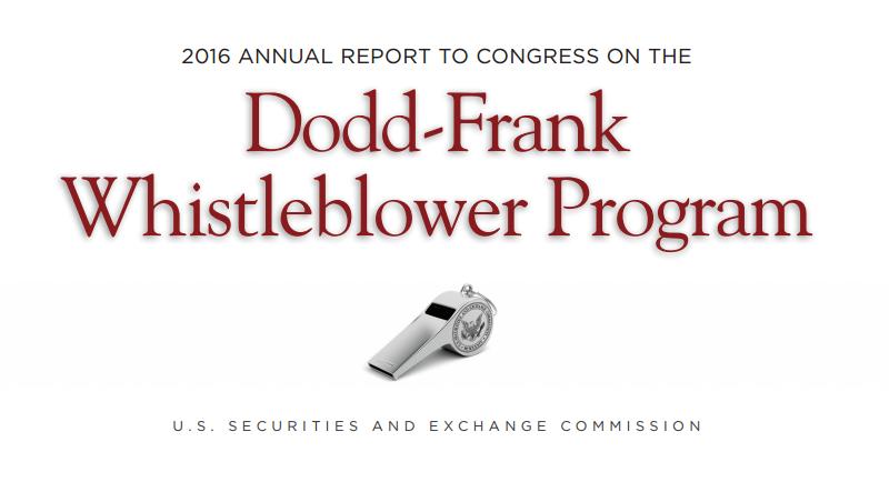 sec whistleblower program report