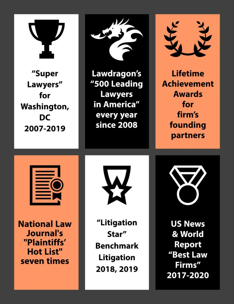 Phillips & Cohen Awards and Recognition highlights graphic