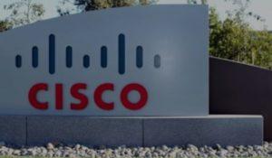 Cisco logo sign